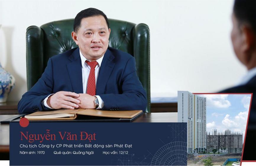 Hồ sơ doanh nhân] Nguyễn Văn Đạt – từng thua lỗ 100 tỷ trong ngành vận tải  biển nhưng phất lên từ bất động sả...