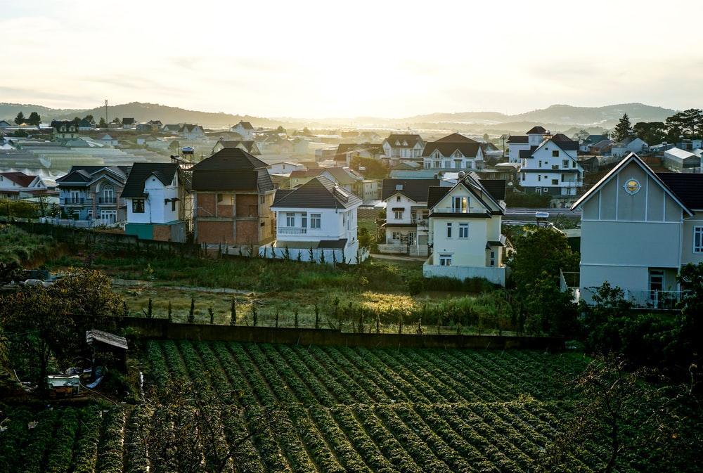 houses near field