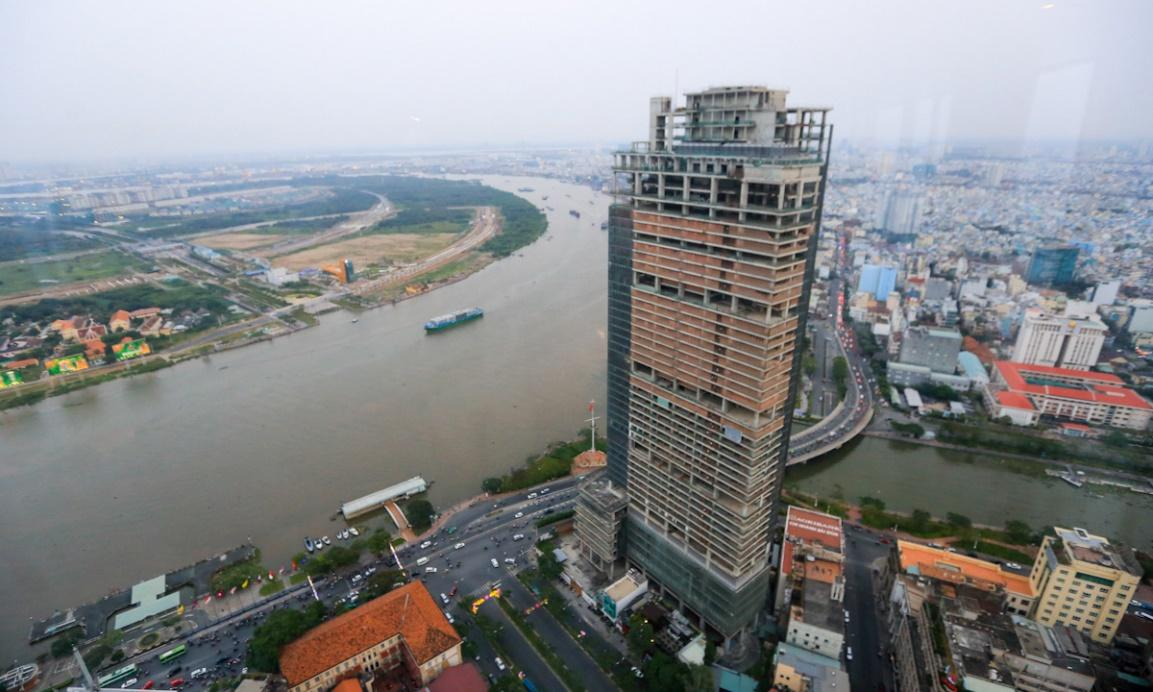 Saigon's notorious skyscraper set to open after years of construction delays