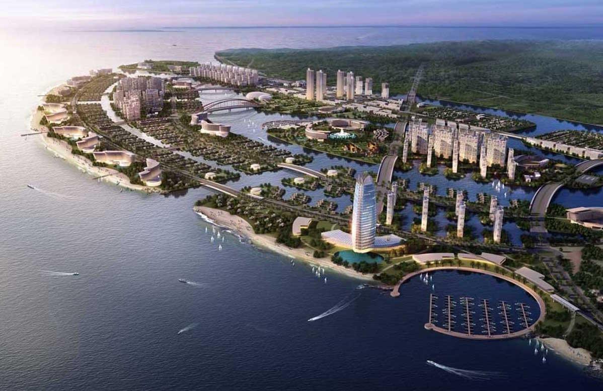 长滩芹约 - 文鲁普的海滨旅游城市项目
